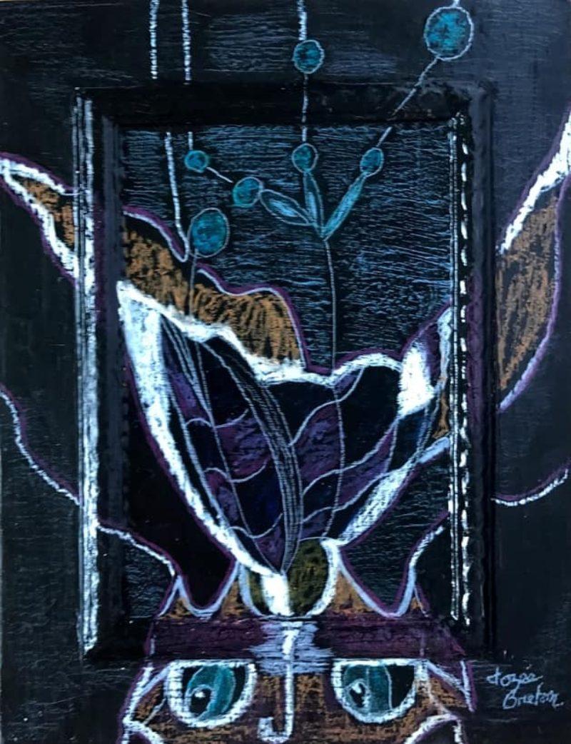 Toile « Cours Platte » de l'artiste Jozée Breton