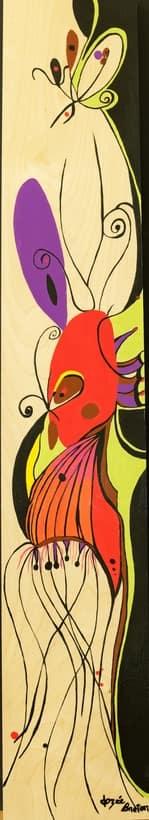 Toile « Sans Titre #11 » de l'artiste Jozée Breton