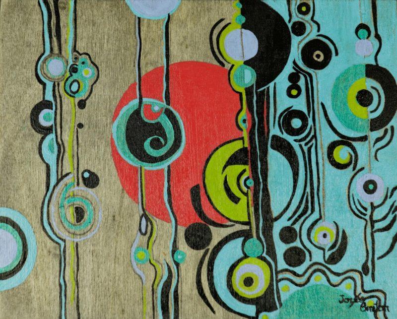 Toile « Sans Titre #8 » de l'artiste Jozée Breton